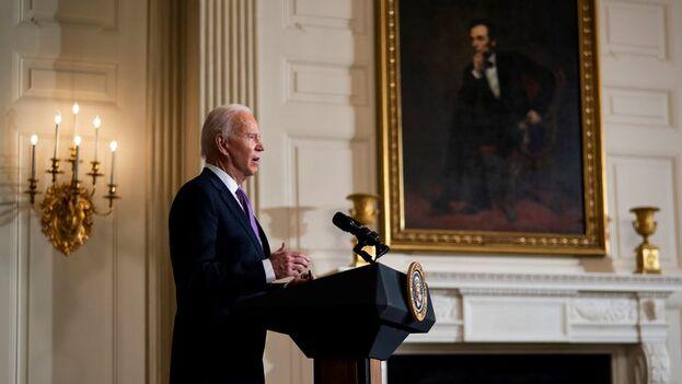 El presidente de Estados Unidos, Joe Biden. (EFE/Doug Mills)