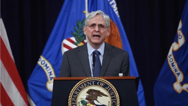 El fiscal general de Estados Unidos, Merrick Garland. (EFE/Tom Brenner/Pool/Archivo)