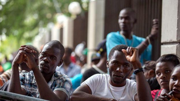Estados Unidos concedió el TPS a Haití en 2010 tras el catastrófico terremoto que dejó unos 300.000 muertos. (EFE)