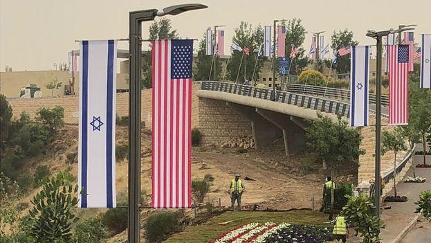 Estados Unidos será el primer país en tener su representación diplomática ante Israel en Jerusalén desde 2006. (@YoavKatzIL)