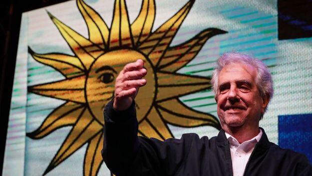 El expresidente de Uruguay, Tabaré Vázquez, falleció a los 80 años tras una larga enfermedad. (EFE/Raúl Martínez)