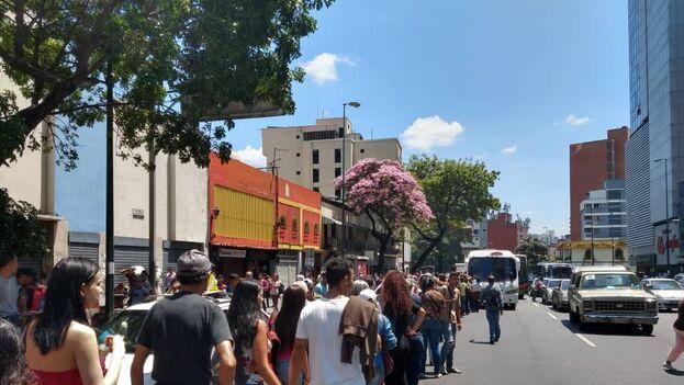 La televisión estatal VTV señaló que el Metro de Caracas inició su plan de contingencia para estos casos. (Efecto Cocuyo)