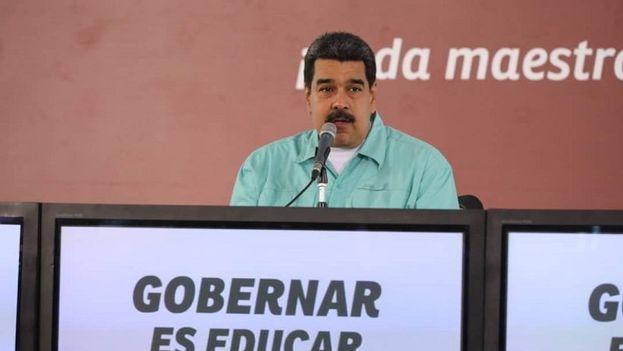 El presidente de Venezuela afirmó que estará en Caracas los próximos días porque la Cumbre de las Américas es una pérdida de tiempo. (@NicolasMaduro)