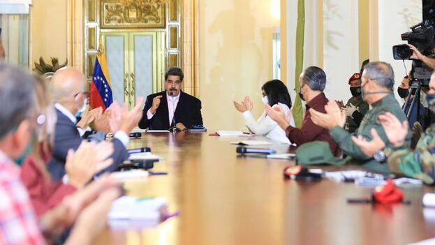 El presidente de Venezuela alerta de que está dispuesto a seguir batallando contra EE UU. (Nicolás Maduro)