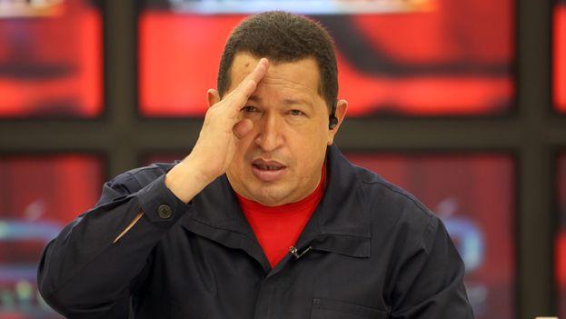 El difunto presidente de Venezuela Hugo Chávez. (Palacio de Miraflores)