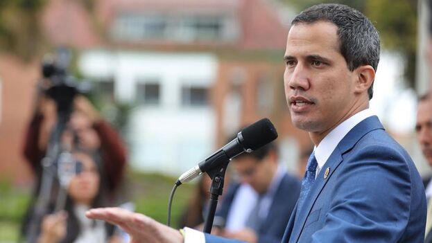 El líder opositor de Venezuela Juan Guaidó. (EFE/Carlos Ortega/Archivo)