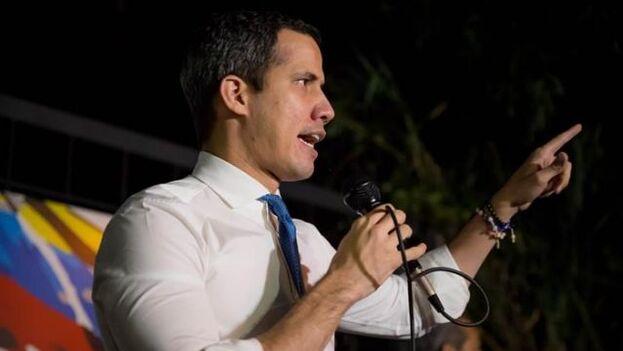 El líder opositor de Venezuela Juan Guaidó. (EFE/Miguel Gutiérrez/Archivo)