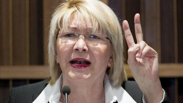 La fiscal general de Venezuela, Luisa Ortega Díaz. (EFE/Archivo)