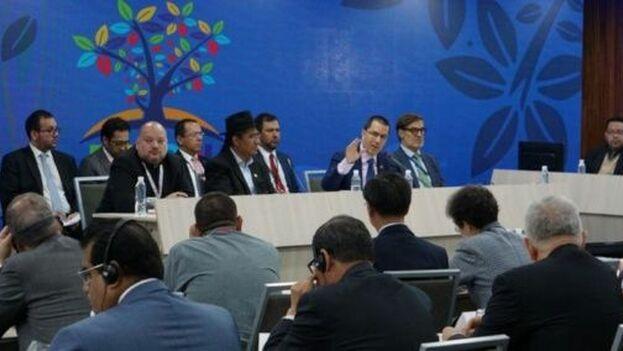 Venezuela acogió a los representantes del Movimiento con miras a la preparación de la cumbre del bloque que se desarrollará en octubre próximo en Bakú, Azerbaiyán. (EFE)