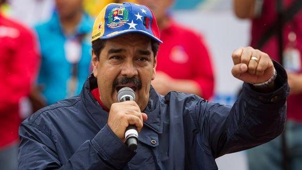 El presidente de Venezuela, Nicolás Maduro, en un acto cívico. (Archivo EFE)