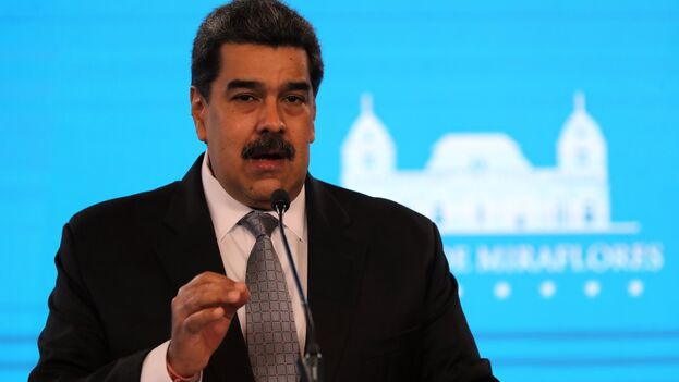 El mandatario de Venezuela Nicolás Maduro. (EFE/Miguel Gutiérrez/Archivo)