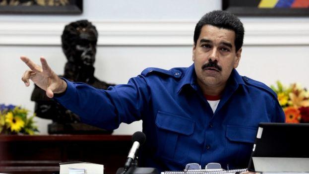 El presidente de Venezuela Nicolás Maduro (Foto EFE)