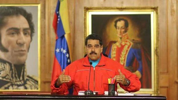 El presidente de Venezuela, Nicolás Maduro (Foto EFE)
