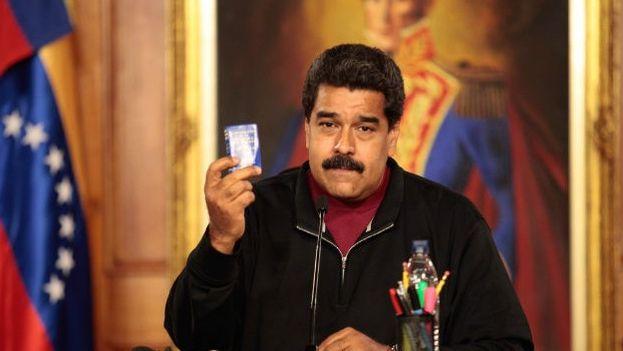El gobernante de Venezuela, Nicolás Maduro Moros. (EFE)