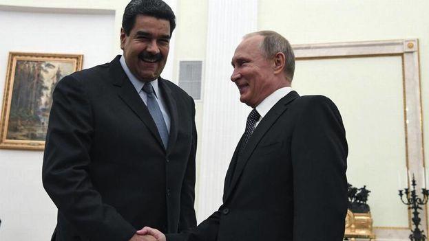 El presidente de Venezuela, Nicolás Maduro, confirmó que en entre los temas a tratar estaban el de la deuda venezolana y la cooperación técnico-militar. (EFE)