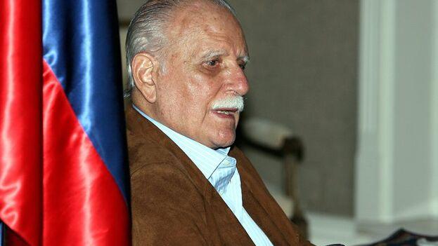 El exvicepresidente de Venezuela José Vicente Rangel. (EFE/José Huesca/Archivo)