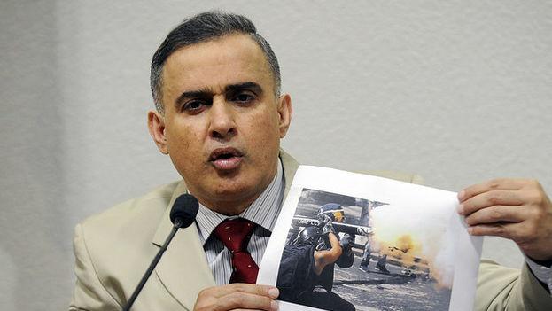 El defensor del pueblo de Venezuela, Tarek William Saab, en una reunión de Derechos Humanos celebrada en Brasil en 2015. (Flickr)