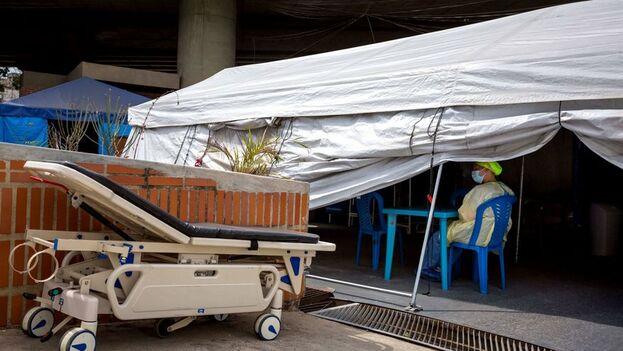 Venezuela acumula 174.887 casos de covid-19 tras sumar 1.101 nuevos contagios. (EFE)