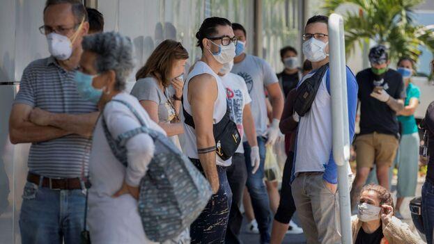 En Venezuela los contagios son más de un centenar, aunque todavía no se ha registrado ninguna muerte. (EFE)