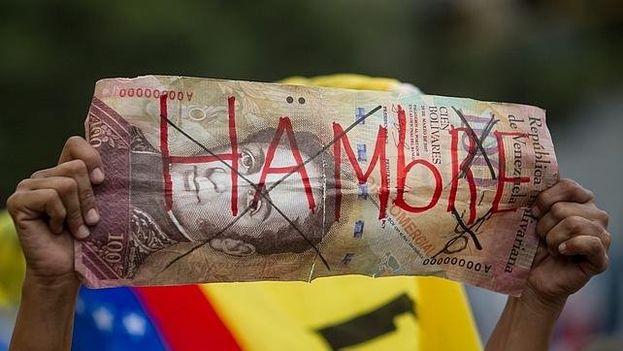 Venezuela tiene una de las tasas de mayor inflación en el mundo. (EFE)