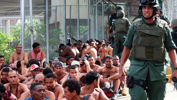 Venezuela, el tercer país con la menor población reclusa de la región, tiene un promedio de 166 presos por cada 100.000 habitantes, según datos oficiales. (EFE)