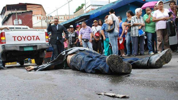 El año 2015 ha marcado para Venezuela un récord en la tasa de violencia, con una tasa de 90 homicidios por cada 100.000 habitantes. (CC)