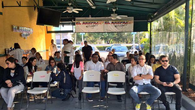 Reunión del grupo Venezolanos Perseguidos Políticos en el Exilio (Veppex). (@Veppex1)