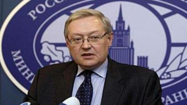 Viceministro de Exteriores Serguéi Riabkov (Ministerio de Exteriores de Rusia)