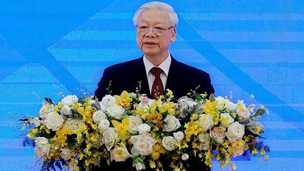 El presidente de Vietnam y secretario general del Partido Comunista, Nguyen Phu Trong. (EFE/EPA/Luong Thai Linh/Archivo)