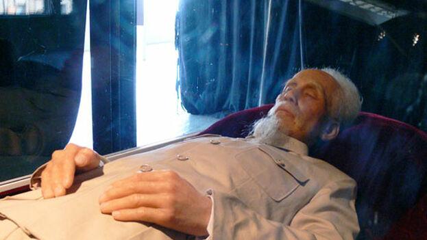Vietnam conservó el cuerpo del líder comunista tras su fallecimiento con ayuda soviética. (DR)