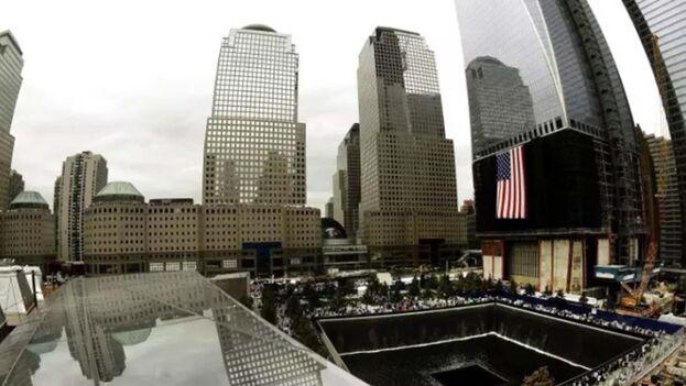Vista general del Memorial del 11S, en la Zona Cero. (EFE)