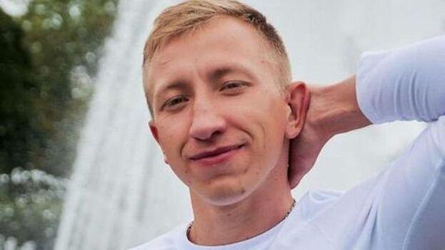 Vitali Shishov, de 26 años, tenía consigo su teléfono móvil y otros efectos personales. (Belarusian House in Ukraine)