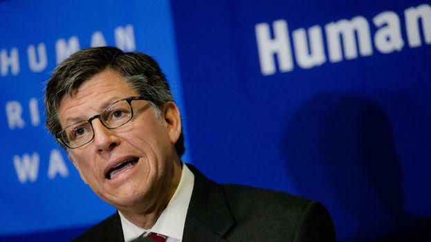 """José Miguel Vivanco, director para las Américas de Human Rights Watch, pidió al Gobierno de Honduras que respete la libertad de reunión y se abstenga """"de hacer un uso innecesario o desproporcionado de la fuerza"""". (HRW)"""
