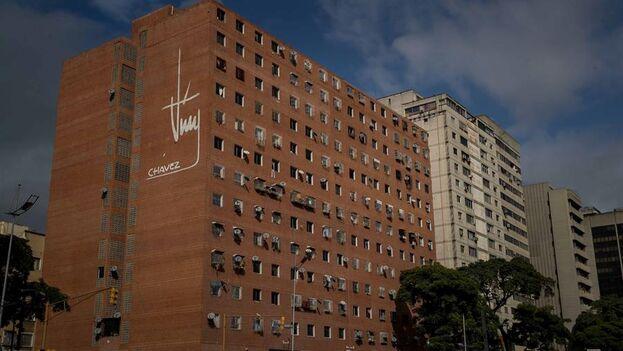 Viviendas populares en Caracas. (EFE/ Miguel Gutiérrez)
