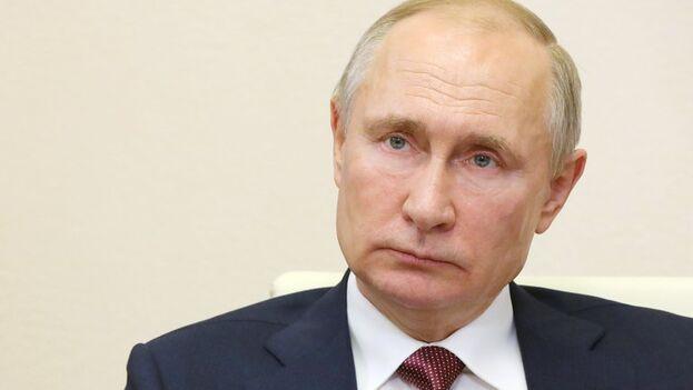 El presidente ruso, Vladímir Putin, sostuvo este martes una conversación telefónica con su homólogo estadounidense, Joe Biden. (EFE/EPA/Michail Klimentyev/Sputnik/Archivo)