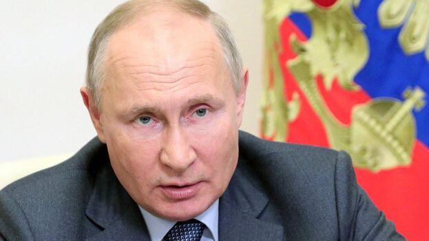 El presidente de Rusia, Vladímir Putin. (EFE/EPA/Sergey Ilyin/Kremlin/Sputnik Pool/Archivo)