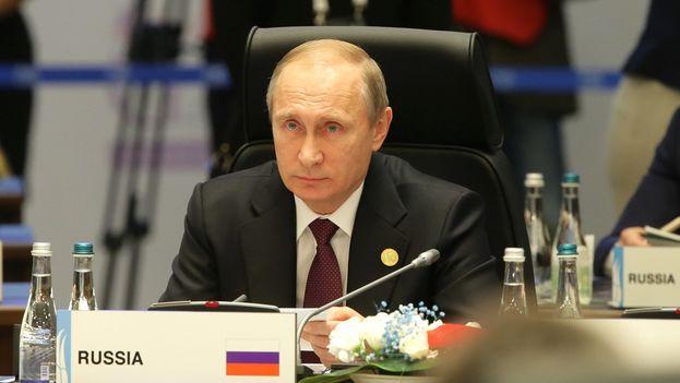 El presidente ruso, Vladimír Putin, en la cumbre del G20 en Turquía. (Kremlín)
