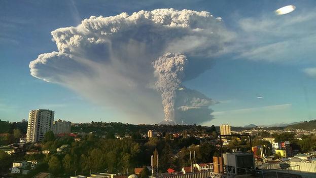 Volcán Calbuco, cerca de Santiago de Chile. (Andiseño Estudio/Flickr)