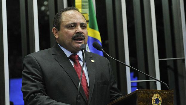 Waldir Maranhao, presidente interino de la Cámara de Diputados de Brasil. (CC)