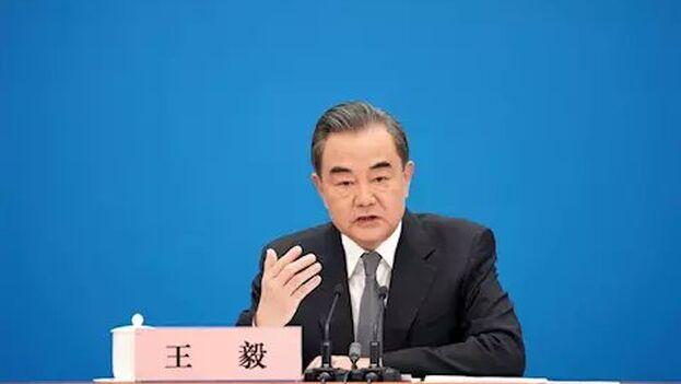 """Wang Yi ha advertido de que existen fuerzas dentro de Estados Unidos que quieren provocar una """"guerra fría"""" con su país. (EFE)"""