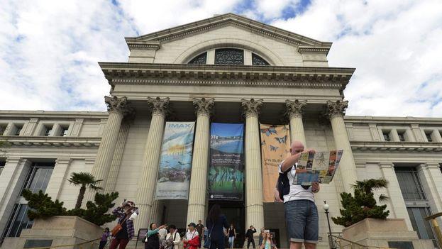 El Museo Nacional de Historia Natural en Washington DC, administrado por el Instituto Smithsonian. (EFE)