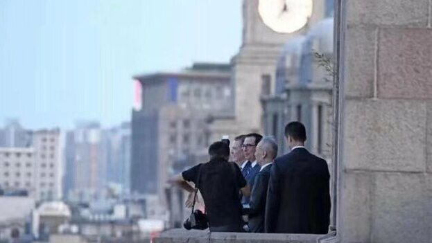 Mientras llegan noticias de Washington, negocian en Shanghái de forma aparentemente constructiva Steven Mnuchin, Robert Lighthizer, Liu He y Zhong Shan. (HKinvestor)