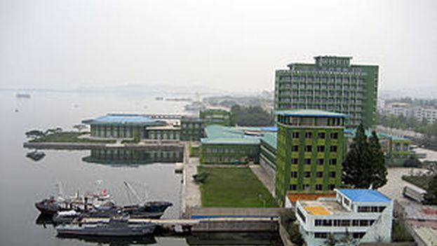 Wonsan, en el sureste de Corea del Norte. (Wikicommons)