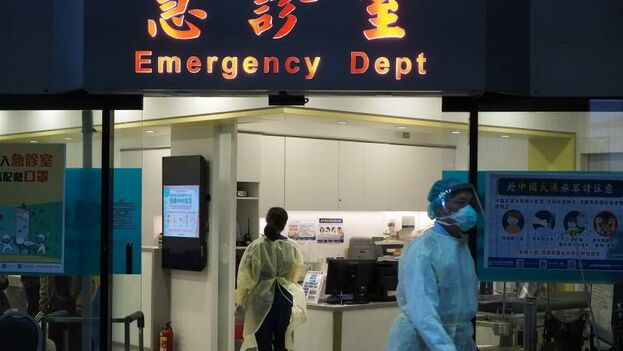 La ciudad china de Wuhan es el frente de la batalla contra el coronavirus porque allí se ubica el epicentro del brote. (EFE)