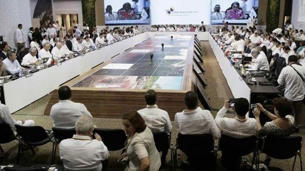 XXV Cumbre Iberoamericana de Jefes de Estado y de Gobierno, en Cartagena, Colombia. (EFE)