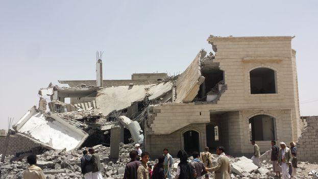 En Yemen se libra una guerra civil entre el Gobierno y sus aliados contra los rebeldes hutíes, respaldados por Rusia e Irán, y con Al Qaeda como tercer contendiente. (CC)