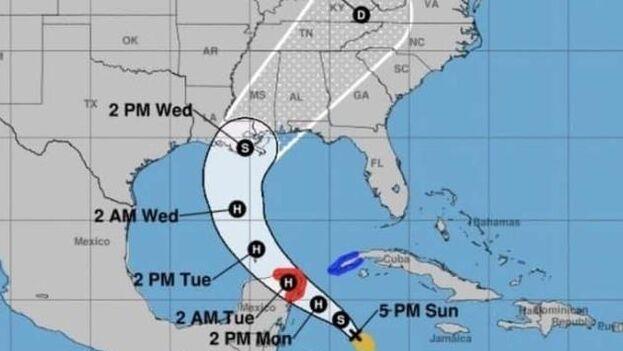 Zeta es la vigésimo octava tormenta de este año en el Atlántico y, de convertirse en huracán, sería el undécimo de esta activa temporada. (EFE)