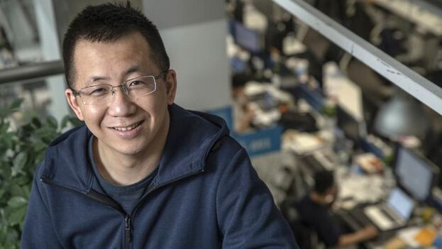 Zhang Yiming mostró en una carta a sus empleados su desacuerdo con la imposición de Washington. (bloomberg)