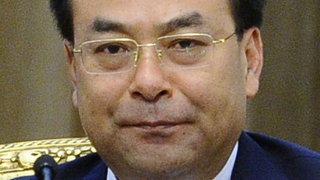 Sun Zhengcai es exministro de Agricultura chino y antiguo secretario general del Partido Comunista en Chongqing. (Wikipedia)