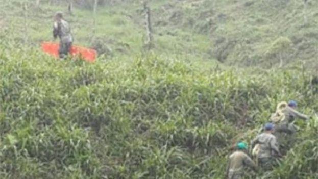 El accidente aéreo ocurrió en la provincia amazónica de Pastaza. (Twitter)